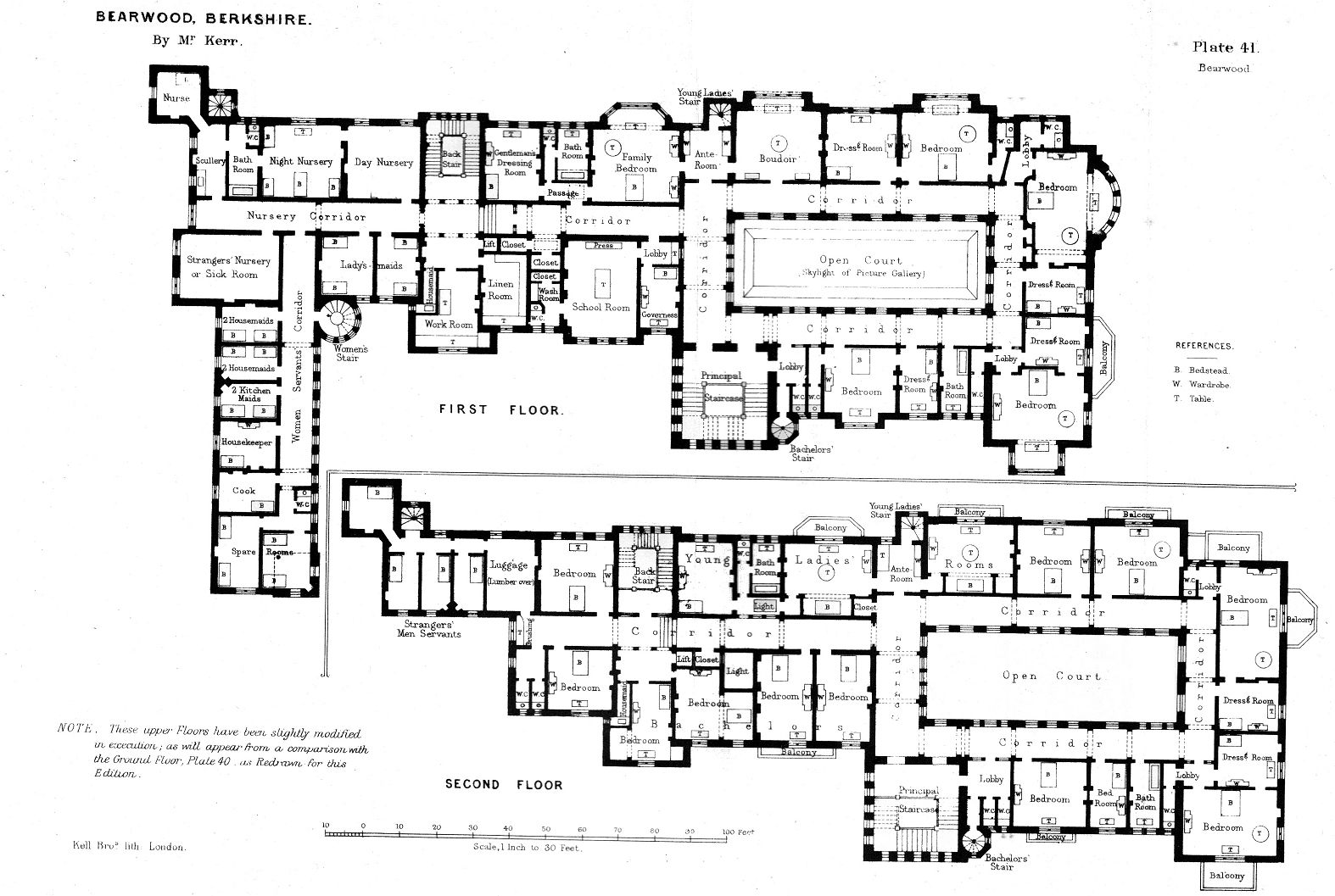 The haunting of hill house floor plan for 15000 square foot house plans