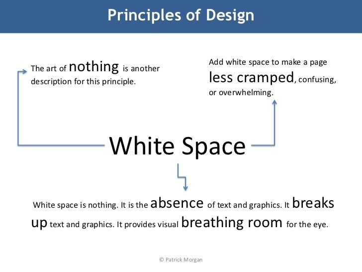 Why You Should Rethink White Space When You Design Your Profile Design White Space White Space Design