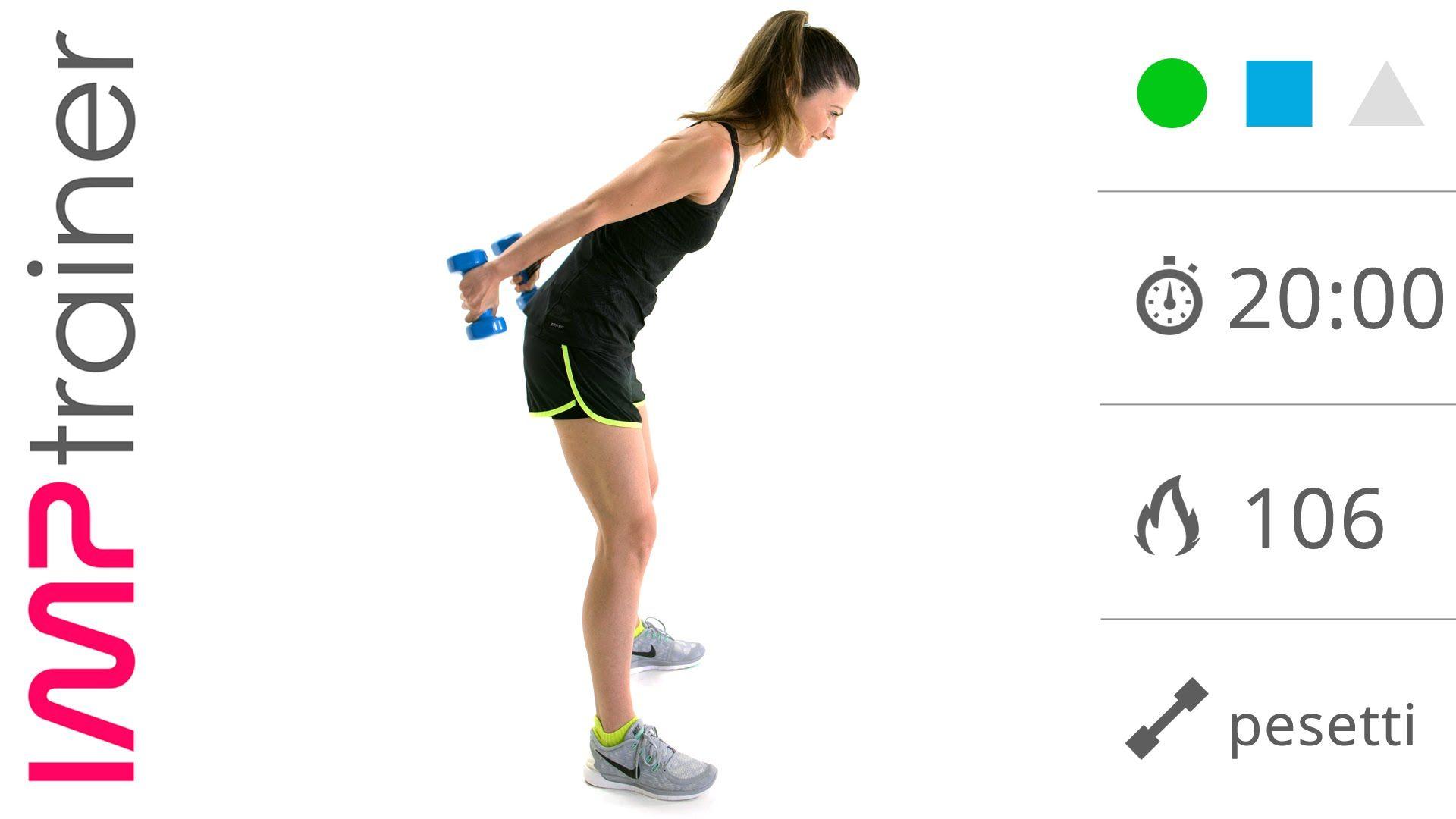 esercizi quotidiani per perdere le braccia