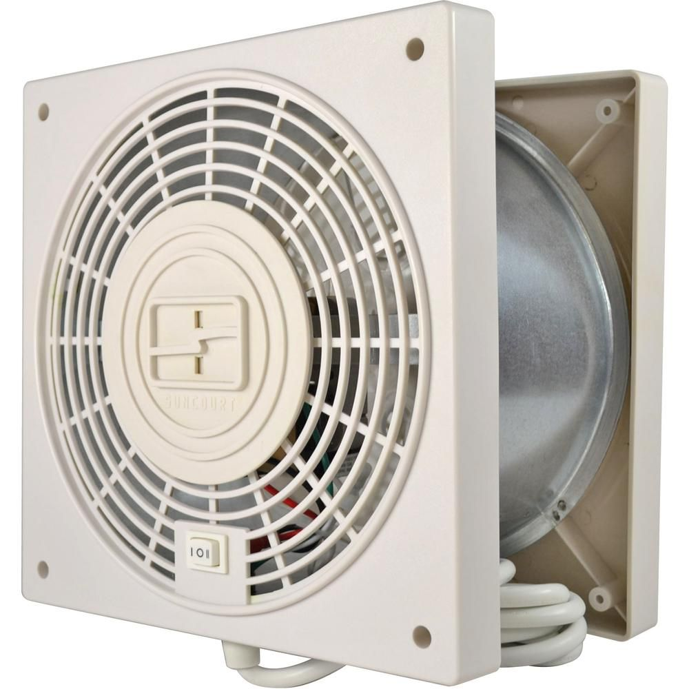 Thruwall Through The Wall 2 Speed With Airflow Adapter Room To Room Fan Tw408 Wall Fans Fan Bathroom Exhaust Fan
