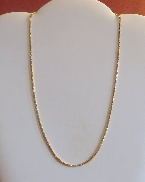 a312ba8c6 Gold Filled Chain Gold Chain Mens Necklace Mens Jewelry Yellow Gold Chain  Mens Gold Chain Rope Chain
