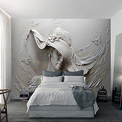 Ohcde Dheark Custom 3D Stereo Geprägte Zement Zeichen Skulptur Foto - tapete für wohnzimmer