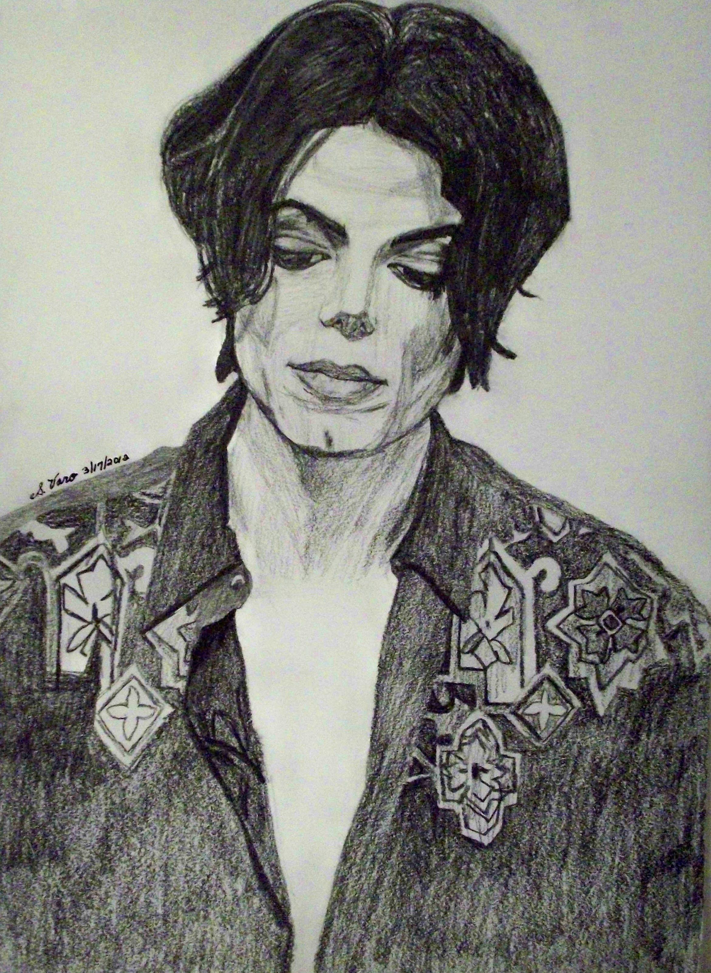 Original drawing michael jackson not alone
