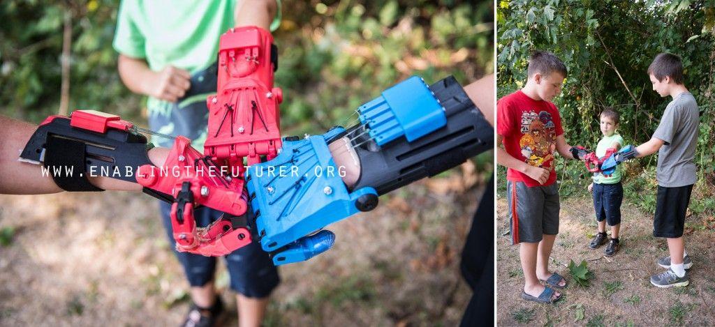ENABLE DPrinterOS Set Out To D Print Prosthetics - Designer creates see through 3d printed prosthetics made from titanium