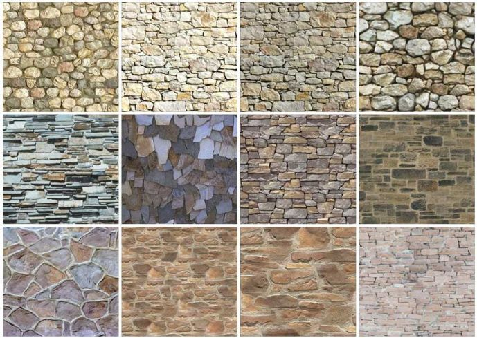 Faux Stone Wall Tile Best Tile Designs And Ideas Idee Per La