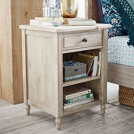 Bedside Tables Nightstands For Teens Pbteen Tori S Apt Ideas