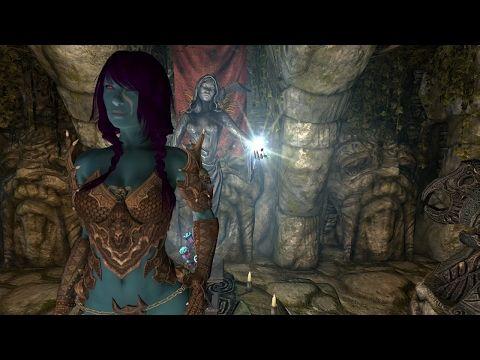 VAMPIRE CHILDREN - Skyrim Special Edition Console Mods - YouTube