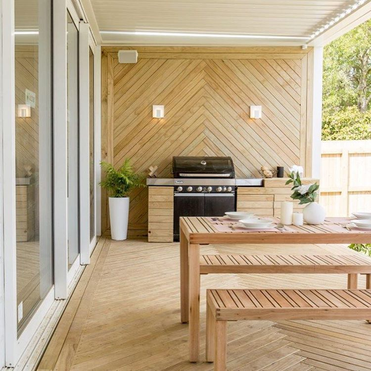 More Outdoor Room Inspo, This Time From Hayden & Jamie's