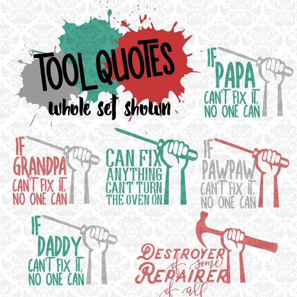 Fix It Repair Mechanic Tools Daddy Grandpa Svg Dxf Ai Eps Etsy Tool Quote Small Business License Mechanic Tools