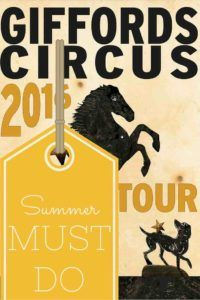 Review: Giffords Circus - a summer must do! Click here for more family travel posts from A Modern Mother