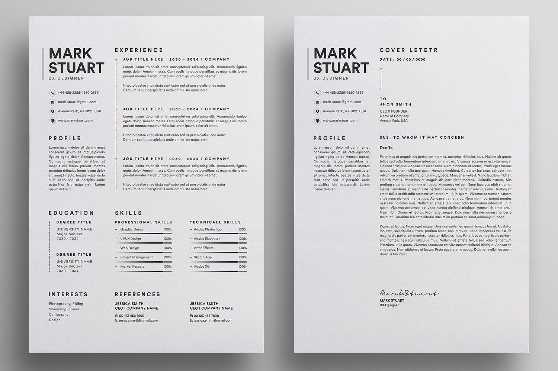 Resume/CV Resume cv, Letterhead design, Resume