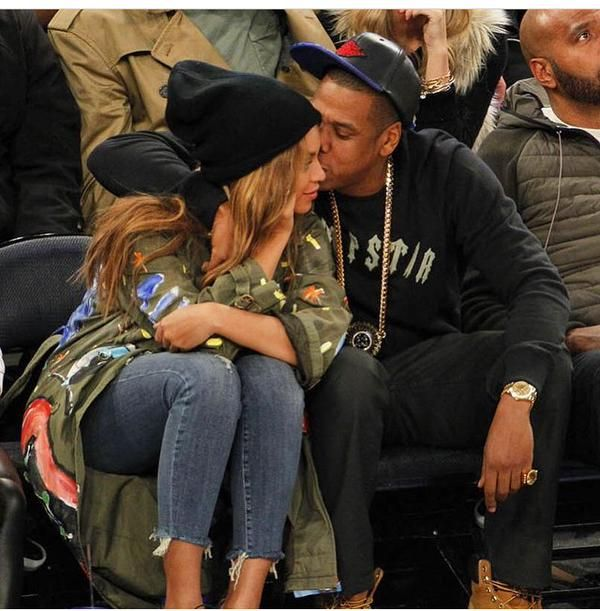 Beyonce & Jay 64th NBA All - Star Game
