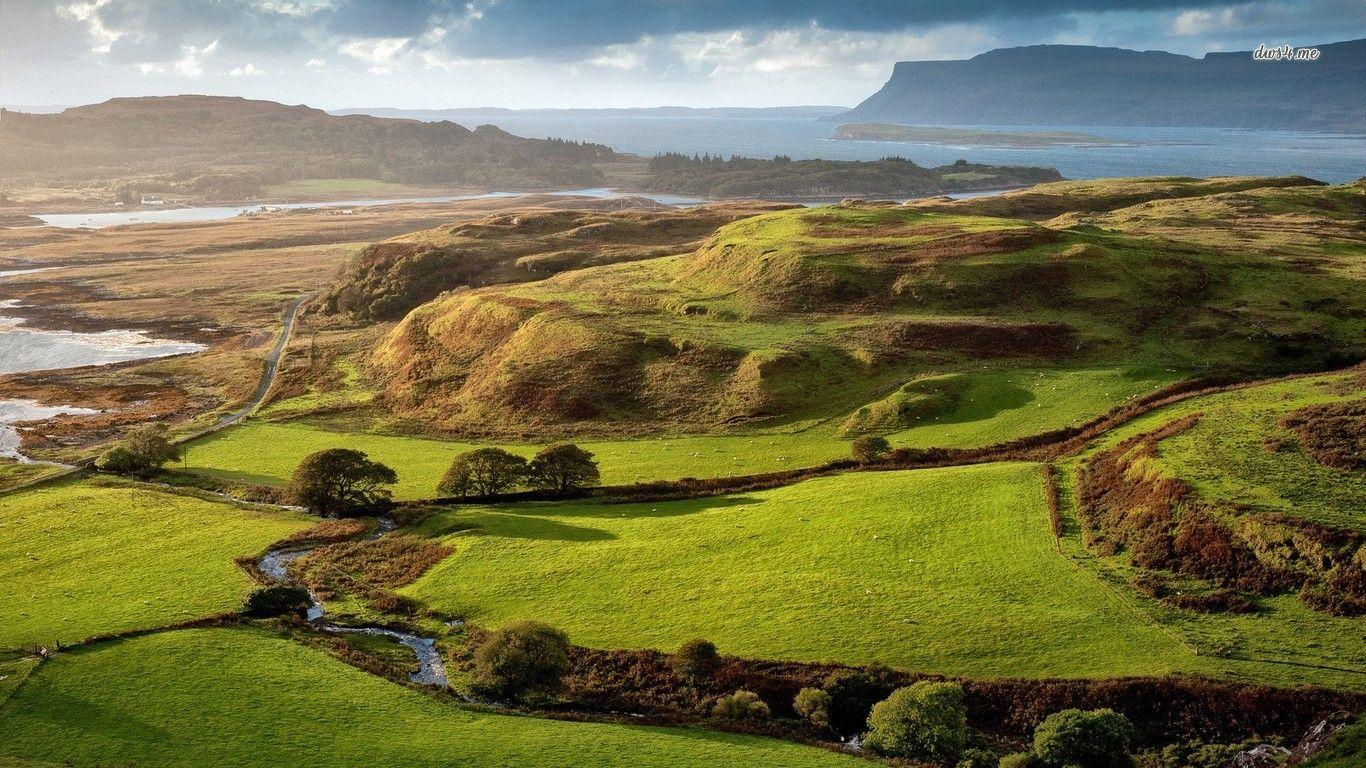 Isle Of Mull Scotland Hd Wallpaper Scotland Wallpaper Scotland Nature Scotland Landscape