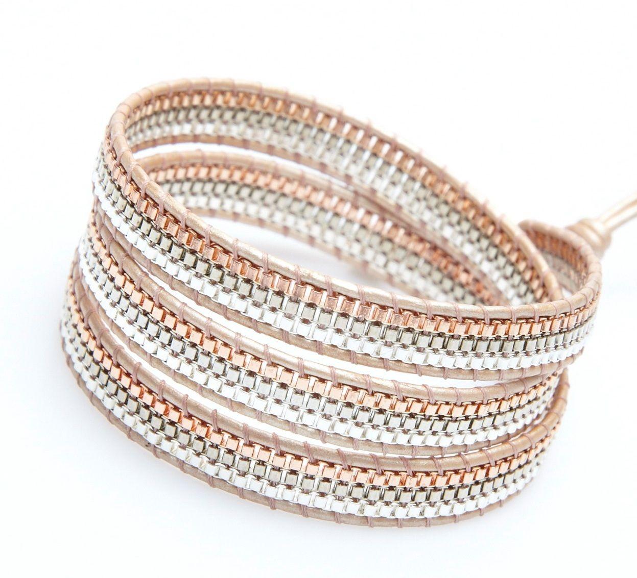 Rhode Wrap Bracelet-Mix by Nakamol - Nakamol Chicago