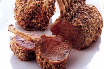 Dukkah-crusted lamb racks