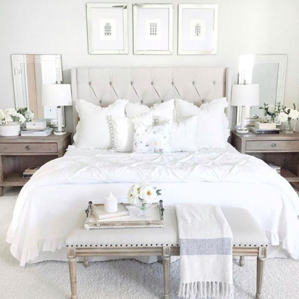 15 Master Bedroom Decorating Ideas And Design Inspiration: Light And Airy Bedroom Inspiration