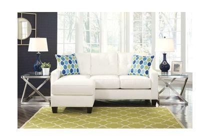 Miraculous Ashley Furniture Aldie Nuvella Sofa Chaise 6870418 Living Ibusinesslaw Wood Chair Design Ideas Ibusinesslaworg