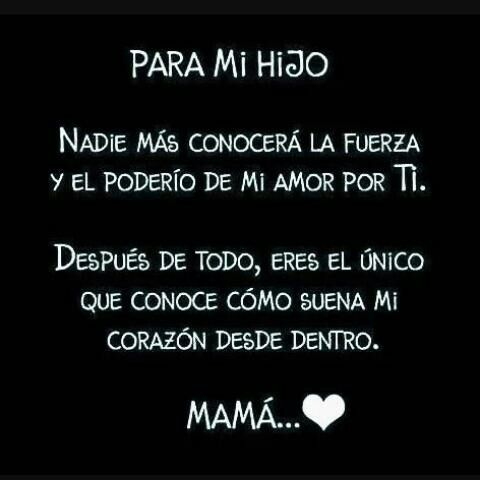 Pin De Sonia En Frases My Children Quotes Mothers Love border=