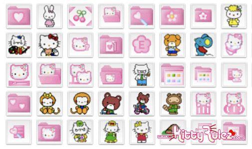 Google Image Result For Http Www Kittyrulez Com Wp Content Uploads 2008 10 Kittyrulezcom Hello Kitty Icons Jpg