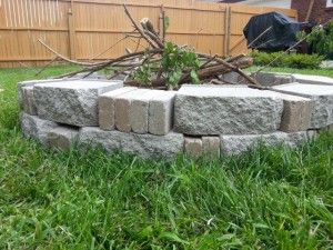 Build your own backyard fire pit....here's how! | Backyard ...