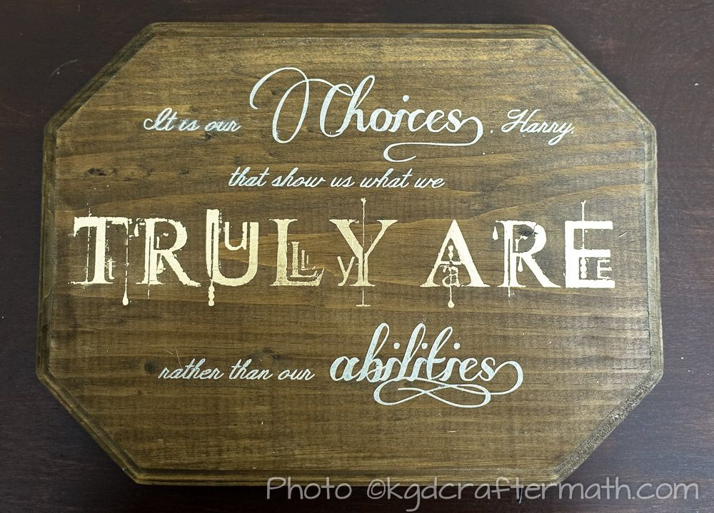 Harry Potter Quote Book Inspired Crafts Pinterest