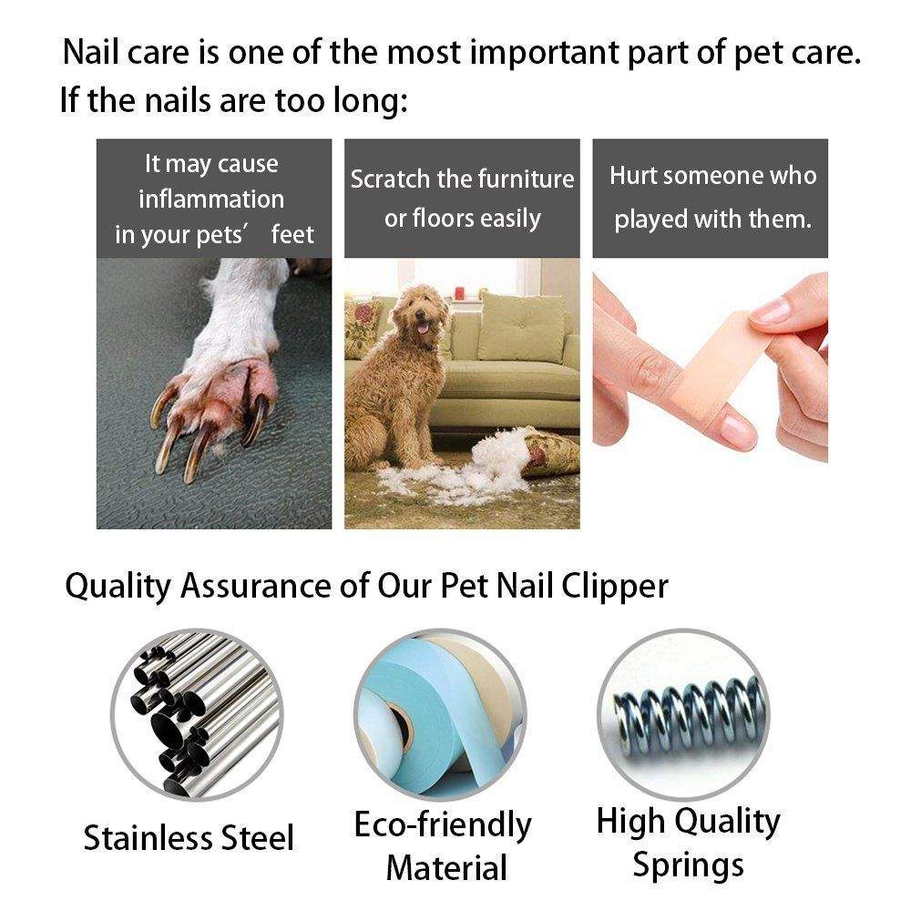 Amazon Dog Nail Clippers and Trimmer Ztent Professional Nail
