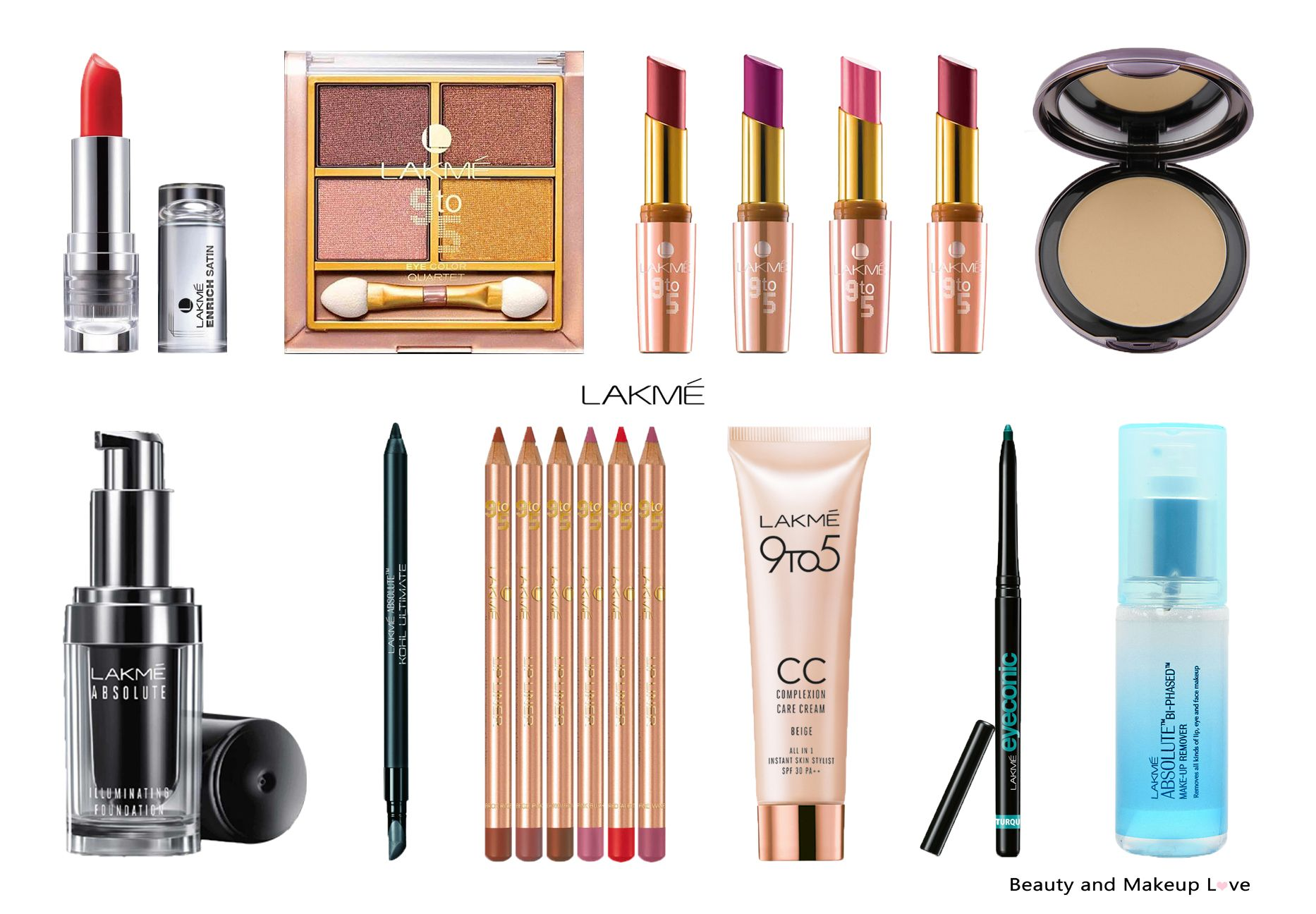 Top 10 Lakme Makeup Products In India Mini Reviews