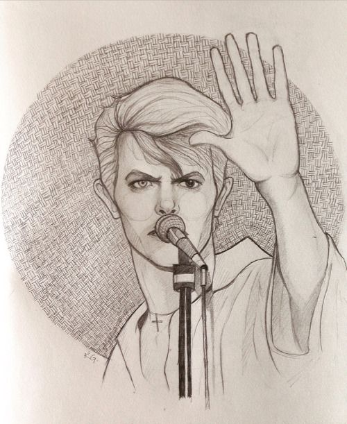 sketches by klaudia, Oh, we can be heroes, just for one day…