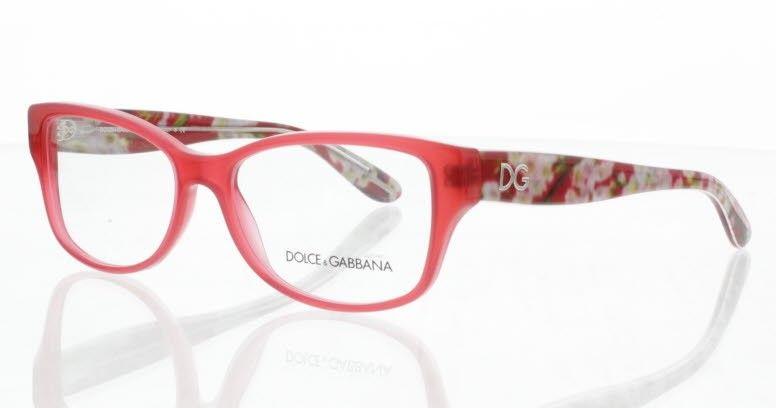 Dg3204 amp;g Flowers Dolce Rouge De 2850Lunettes Gabbana Vue D Almond 54RALj