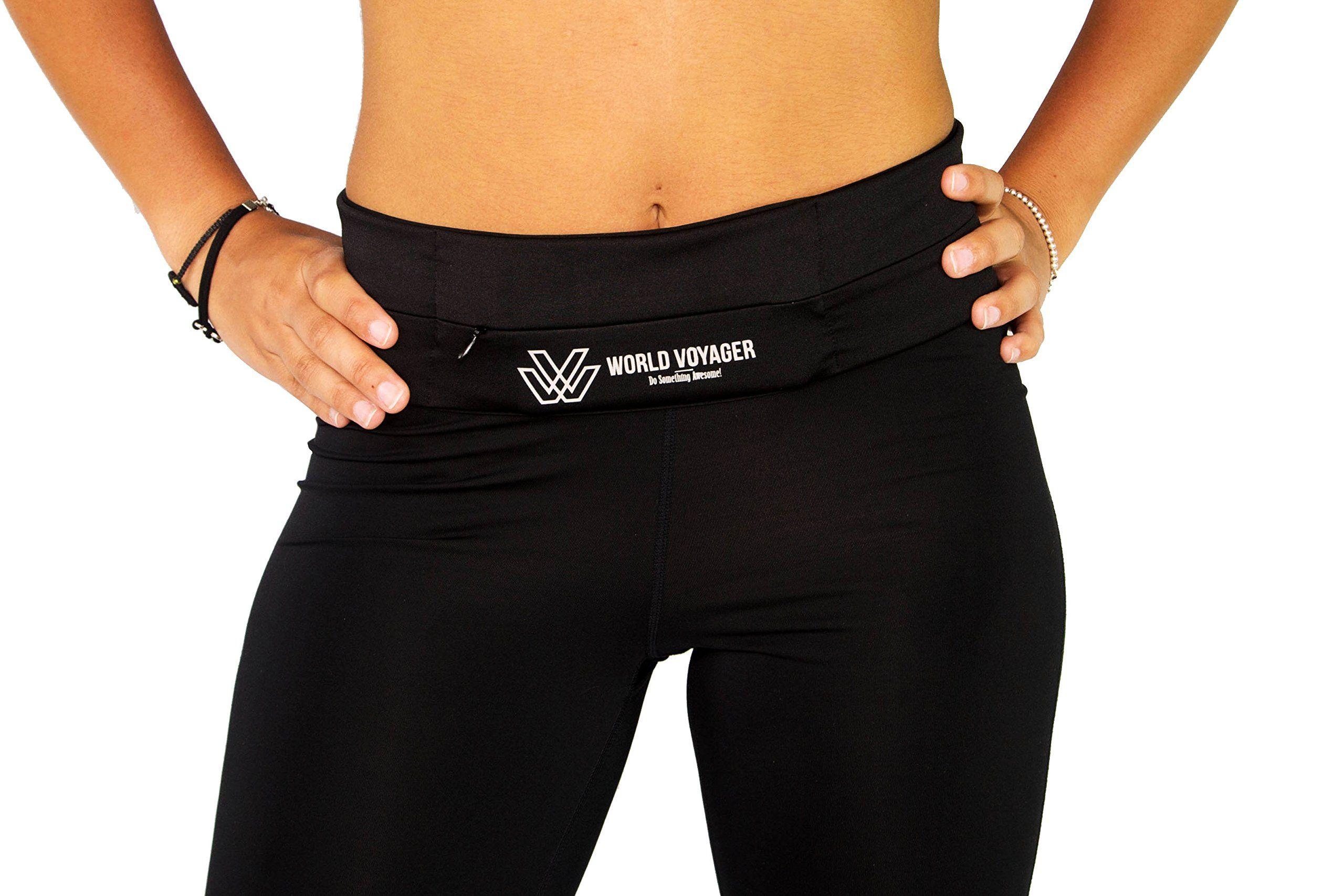 8b114056e770 Premium Quality No Bounce Running Belt & Fitness Waist Pack Unisex ...