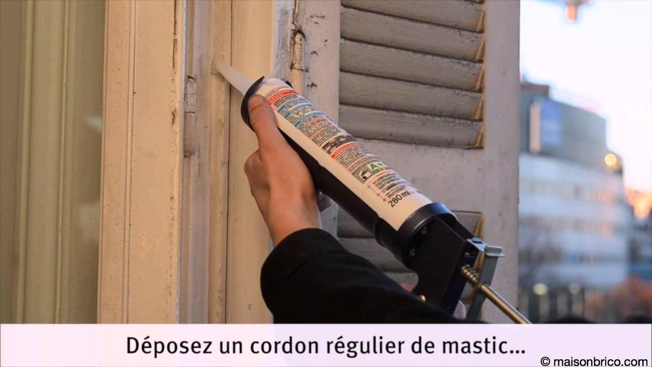 Calfeutrage Des Fenetres Par Joint Silicone Moule Joint Fenetre Fenetre Silicone