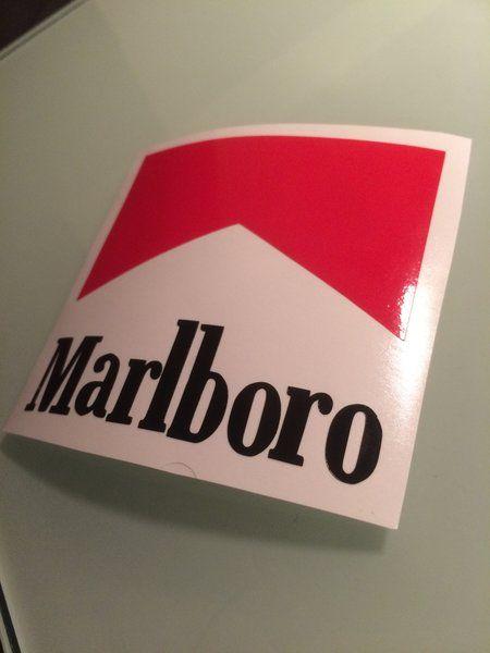 Marlboro Logo Vinyl Sticker