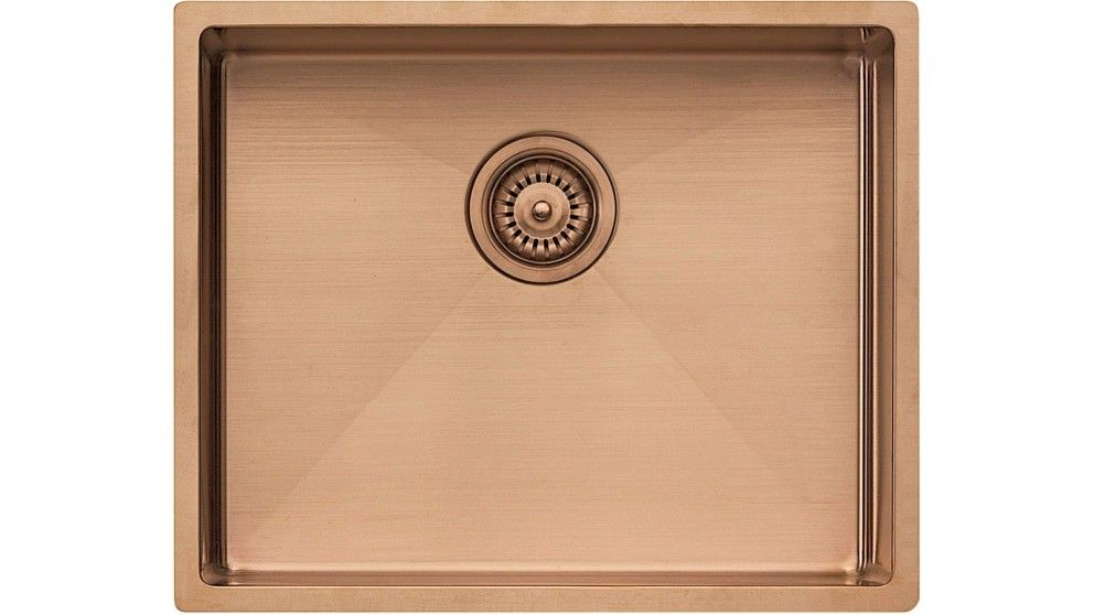 Oliveri Spectra Single Bowl Sink - Copper - Sinks - Sinks & Taps ...