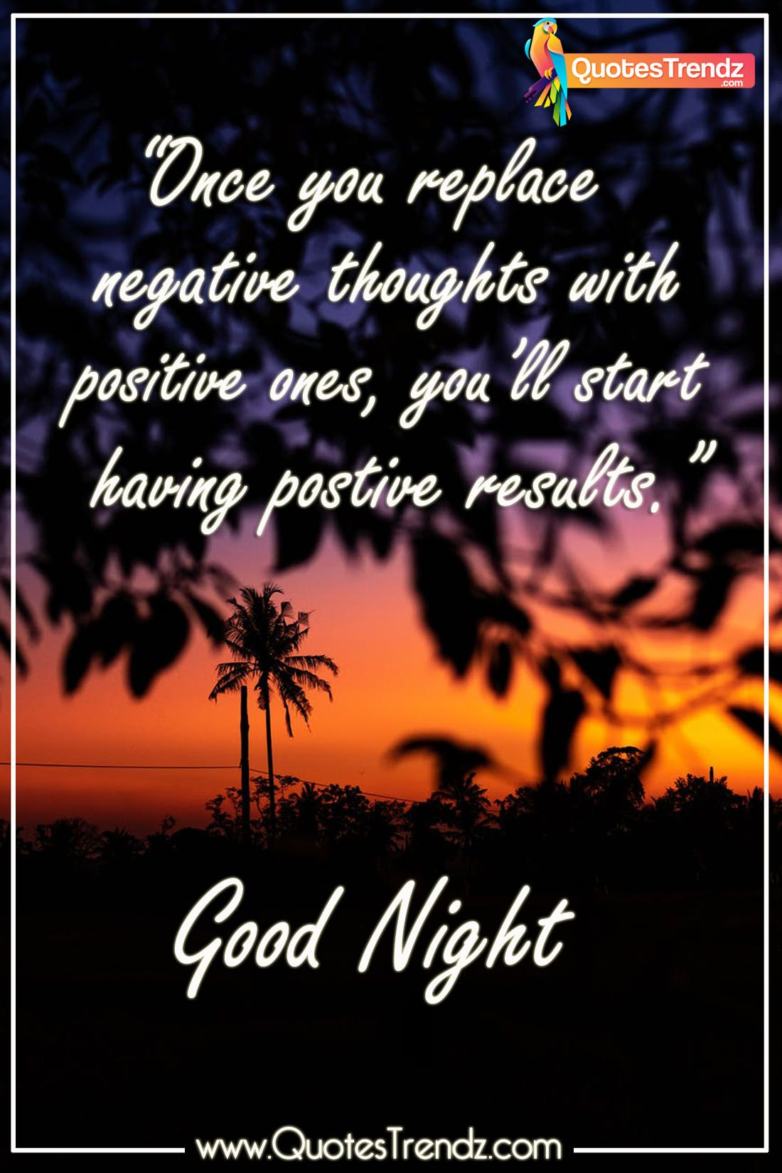 Good Night Quotes In English Good Night Quotes Night Quotes Positive Good Night Quotes