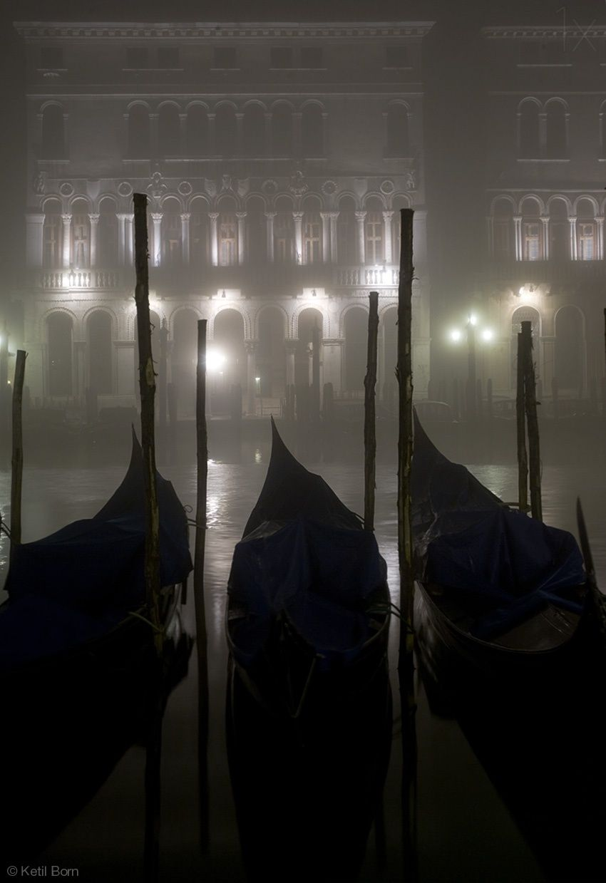 Venice, Italy. 1X - by Ketil Born This would be in a Vampire dream