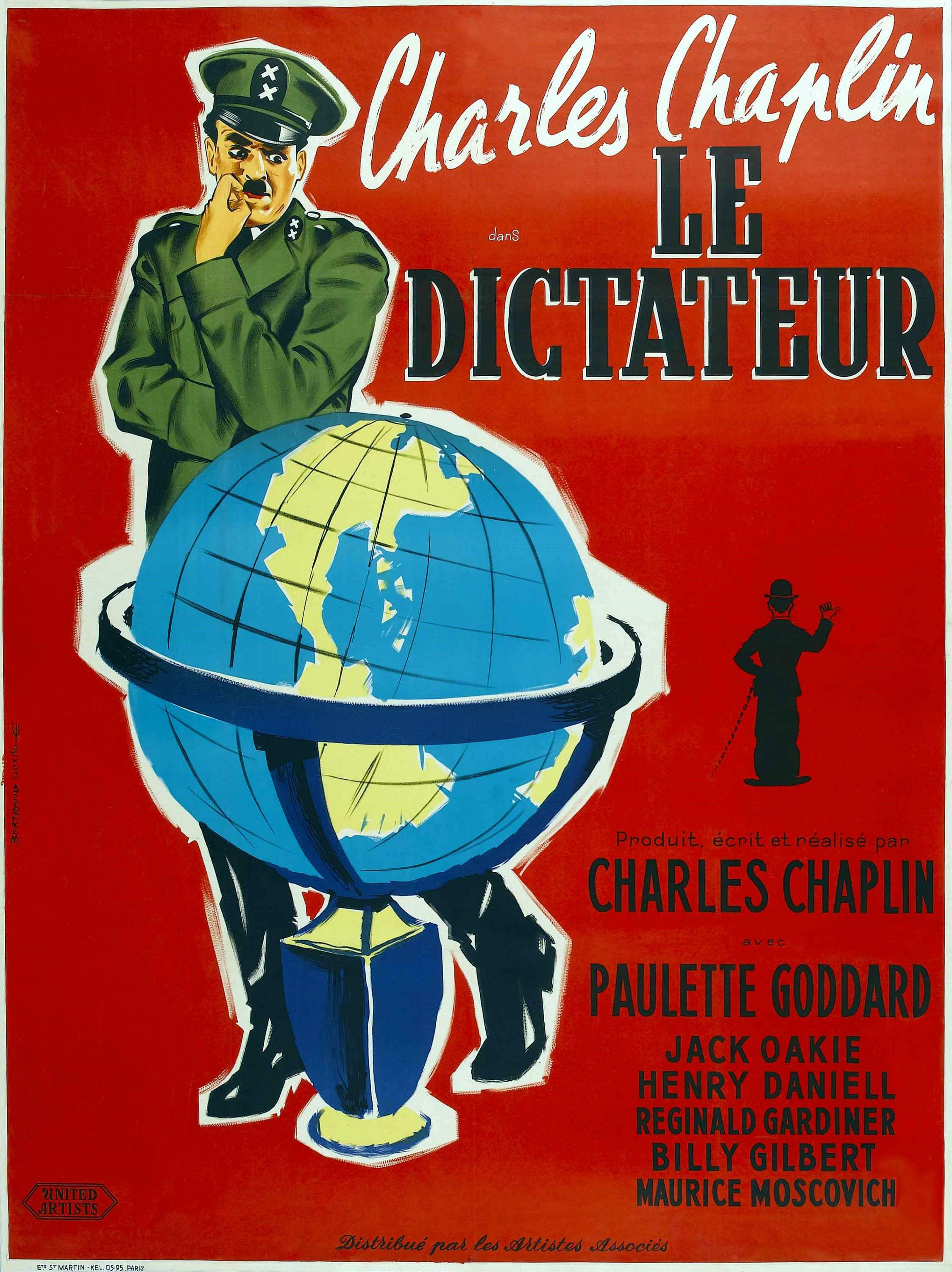 The Great Dictator (1940) Charlie chaplin, Classic movie
