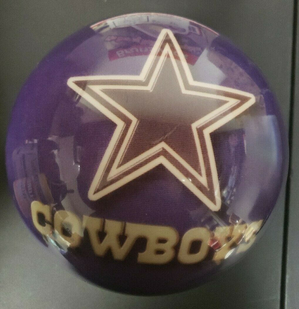 New Dallas Cowboys Miller Light Brunswick 15lb Undrilled Bowling Ball Viz A Ball In 2020 Bowling Ball Bowling Dallas Cowboys
