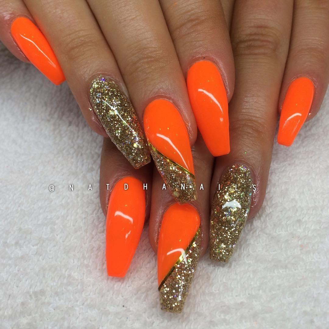 Efter, påfyll med Neon Orange och Drunken Mermaid (egenblandat ...
