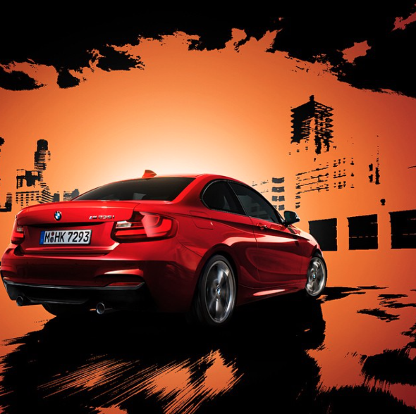 Make room for the one you care about this valentine's Day in the BMW 2 Series.