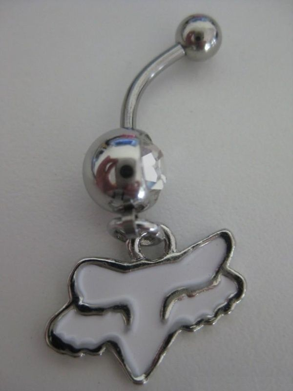 Fox Racing Belly Button Ring Want Belly Button Rings Piercing