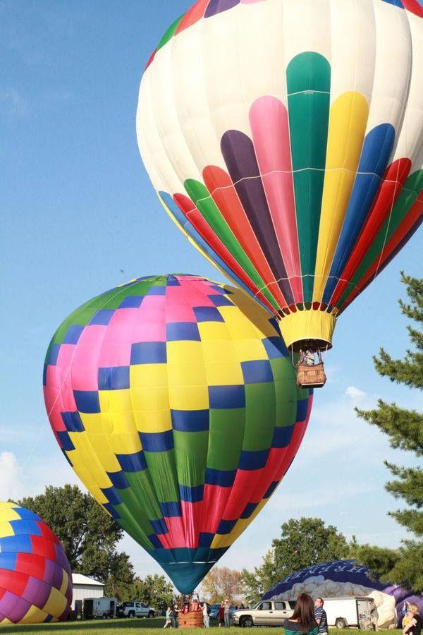 New Haven, Missouri Balloon Race Sept. 2014.  Photo from the Missourian.