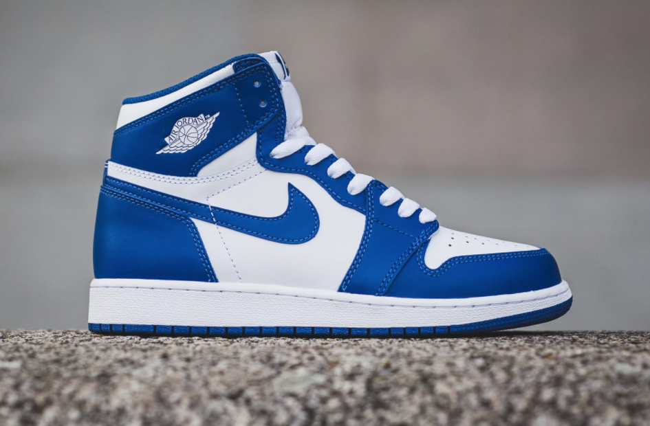 A Closer Look At The Air Jordan 1 High OG Storm Blue