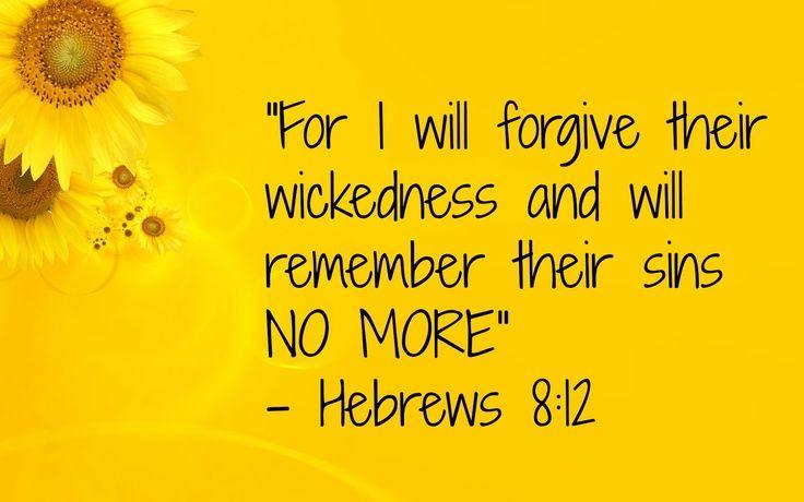 Image result for image Hebrews 8:12