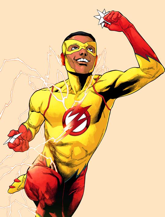 The Flash 2016 10 Kid Flash Wally West The Flash