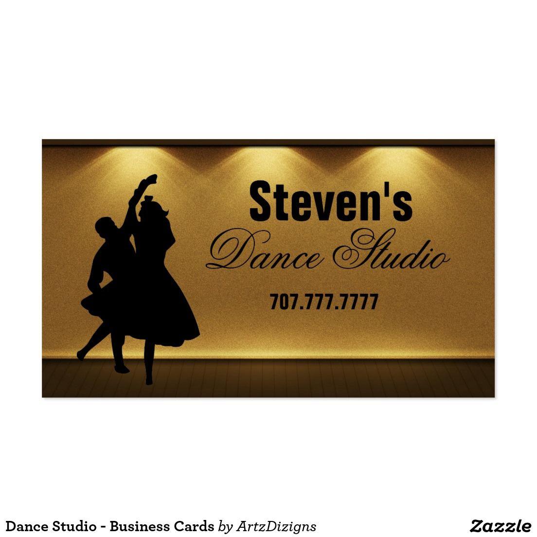 Dance Studio - Business Cards | Zazzle Friends Style | Pinterest ...
