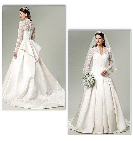 Wunderschönes Brautkleid wie das von Prinzessin Kate! In diesem ...
