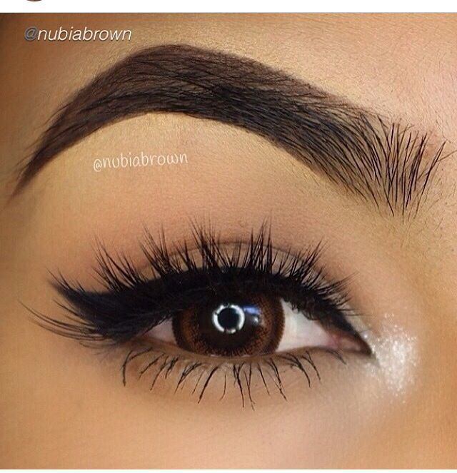 Eye brows are perfect