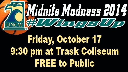 Tip-off luncheon was today which means it's Midnite Madness Week! Join us Friday night at 9:30pm for this FREE event.