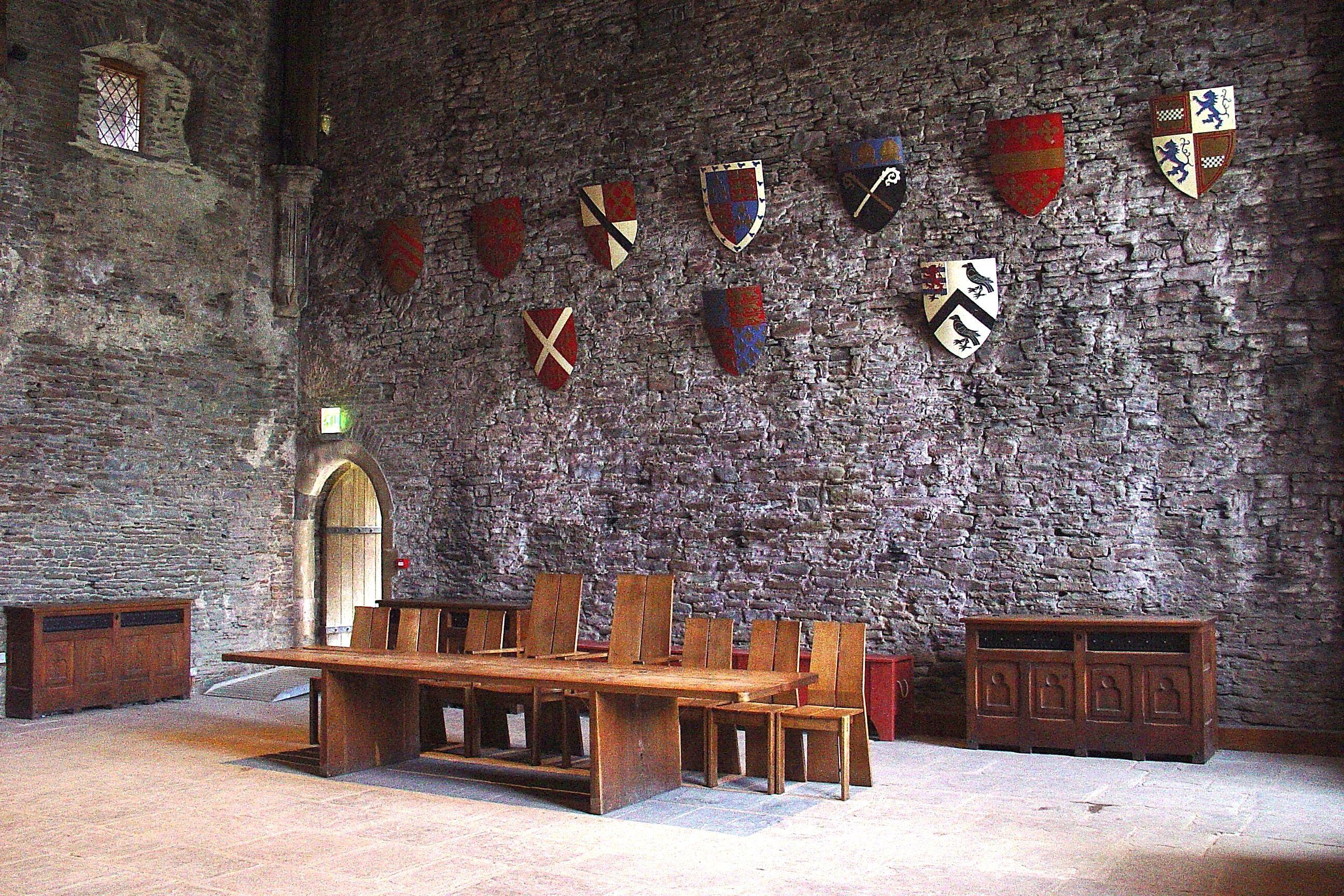 Caerphilly Castle Travel Castles Interior Medieval Castle Castles In Wales