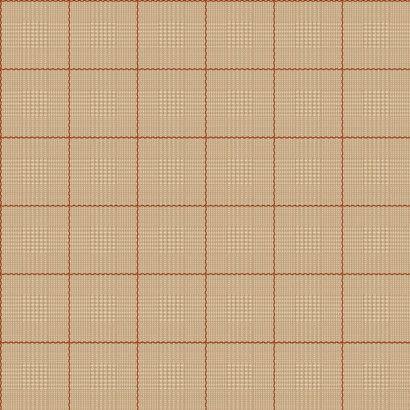 Harris Plaid Wallpaper in Cream design by Ronald Redding
